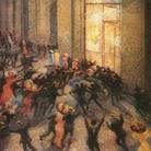 Umberto Boccioni, Rissa in Galleria, 1910. Pinacoteca di Brera, Milano