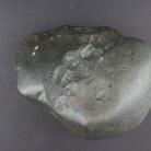 Meteorite condritica non classificata presentante crosta di fusione e regmagliti, Marocco. Museo di Storia Naturale di Milano