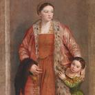 Paolo Veronese, Contessa Livia da Porto Thiene, c.1552, Walters Art Museum, Baltimora e Galleria degli Uffizi, Firenze, Collezione Contini Bonacossi