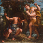 Andrea Procaccini, Argo e Mercurio, 1716, Olio su tela, 73.5 x 62.5 cm, Accademia Nazionale di San Luca, Roma