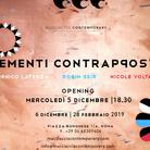Elementi Contrapposti. Domenico Laterza, Robin Seir, Nicole Voltan
