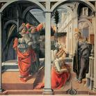 Filippo Lippi, Annunciazione Martelli, 1440 circa, Tempera su tavola, 175 x 183 cm,Firenze, Cappella Martelli, Basilica di San Lorenzo