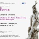 Voci Fiorentine - Antonio Paolucci. Modello del Ratto delle Sabine di Giambologna