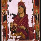 <em>Madonna del Latte</em>, XIII-XIV sec.,Venezia, Museo di San Marco. - Venezia