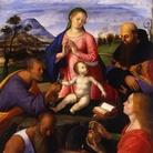 Chantilly, Musée Condé | Alvise Vivarini, La Vergine con il Bambino e santi, bois, 1500, Tavola, 99 x 144 cm