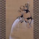 Katsushika Hokusai Hotei,The God of Happiness and Abundance | Courtesy of Sumida Hokusai Museum, Tokyo 2017