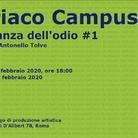 Ciriaco Campus. La stanza dell'odio #1