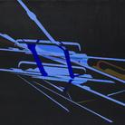 Titina Maselli, Nodo nel cielo, 1972, Acrilico su tela, 149 x 123 cm, Galleria Massimo Minini di Brescia | Courtesy of Galleria Massimo Minini, Brescia | Foto: Gilberti Petrò