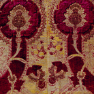 Frammento di tessuto, Manifattura italiana, Seconda metà del XV secolo, Recanati, Museo Diocesano