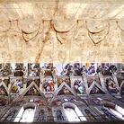 Trovato il primo disegno in cui Michelangelo immaginò la Cappella Sistina
