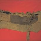 Alberto Burri, Sacco e Rosso, 1954. Tate Gallery di Londra