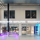 Museum für Gestaltung – Schaudepot, ingresso. Photo: Umberto Romito, © ZHdK Il Museum für Gestaltung è il principale museo della Svizzera dedicato alla comunicazione visiva. L'edificio originale è attualmente chiuso per ristrutturazione, la riapertura è prevista a marzo 2018. La nuova sede, Schaudepot, sorge nella Toni-Areal a Zurigo Ovest.