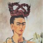 Frida Kahlo, Autoritratto con treccia, 1941,The Jacques and Natasha Gelman Collection of 20th Century Mexican Art and The Vergel Foundation, Cuernavaca | © Banco de México Diego Rivera & Frida Kahlo Museums Trust, México D.F. | Courtesy of NAVIGARE Srl 2019