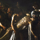 Michelangelo Merisi da Caravaggio, Resurrezione di Lazzaro, 1609. Olio su tela, cm 380 x 275. Provenienza: Messina, Chiesa dei Padri Crociferi. Messina, Museo Regionale