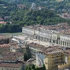 Veduta aerea di Piazza Vittorio Veneto, Torino. - Torino