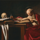 Caravaggio, San Girolamo, 1605-1606, Olio su tela, 157 x 112 cm, Roma, Galleria Borghese