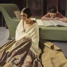 Felice Casorati, Raja, 1924-1925, Tempera su tavola, Collezione privata | Courtesy of Musei San Domenico, Forlì, 2017