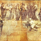 Restaurato il cartone della Scuola di Atene di Raffaello