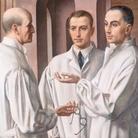 Ubaldo Oppi, I chirurghi, 1926, Olio su tela, Museo Civico di Palazzo Chiericati, Vicenza