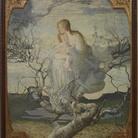 Giovanni Segantini, L'angelo della vita, 1894, olio su tela. Milano, Galleria d'Arte Moderna