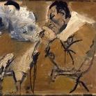 Carlo Mattioli, Ritratto di Renato Guttuso, 1972, Olio su tela, 103 x 70.5 cm, Collezione privata | Courtesy of Labirinto della Masone, Fontanello, Parma