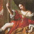 Elisabetta Sirani (Bologna, 1638 - Bologna, 1665), Porzia che si ferisce alla coscia, 1664, Houston, Ross Miles Foundation