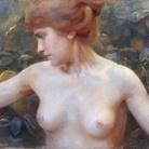 Sophie Browne, Eva, 1898 ca, Pastello su carta,173.5 x 75.5 cm