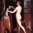 Lavinia Fontana (Bologna, 1552 - Roma, 1614), Minerva in atto di abbigliarsi, 1613, Roma, Galleria Borghese