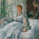 Édouard Manet, La lettura, 1865-1873, Olio su tela, 73.2 x 61 cm, Parigi, Musée d'Orsay | © René-Gabriel Ojéda / RMN-Réunion des Musées Nationaux/ distr. Alinari