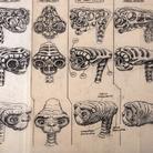 Carlo Rambaldi,Studio con proporzioni e movimenti E.T. | © Fondazione Culturale Carlo Rambaldi