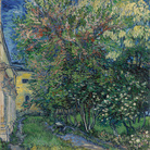 Vincent van Gogh, Il giardino dell'asilo a Saint-Rémy, Maggio 1889, Olio su tela, Otterlo Museum