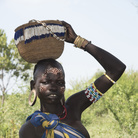 Etiopia, Valle dell'Omo: villaggio di Sciambek, donna della popolazione Mursi | Foto: © Carlo Franchini