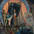 Oscar Saccorotti, Il circo equestre, 192, Olio su tela, Collezione Privata | Courtesy Galleria Novecento, Genova