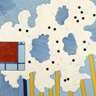 Museo del Novecento | Tano Festa, Cielo Newyorkese, 1966, Acrilico su tela, Mart, Museo di Arte Moderna e contemporanea di Trento e Rovereto. Collezione VAF – Stfung | © MART - Archivio Fotografco e Mediateca