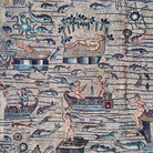 Il mosaico di Giona nel grande mosaico dell'Aula Teodoriana Sud della Basilica di Aquileia | Foto: © Elio Ciol