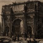 Giambattista Piranesi, Vedute di Roma, Arco di Costantino, Acquaforte, 47.7 x 71.2 cm | Courtesy Musei Bassano