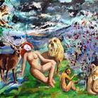 La figura femminile dipinta da Dario Fo
