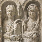 Stele di Optata Fadia, Primo terzo I secolo d.C., Calcare, 77 x 20 x 175 cm, Museo Archeologico Nazionale di Aquileia | Foto © Gianluca Baronchelli