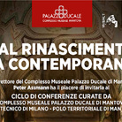 Dal Rinascimento alla contemporaneità - Ciclo di conferenze