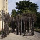 Scultori a Villa Recalcati