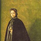 Giuseppe Abbati, Ritratto di Teresa Fabbrini Martelli, 1865-1866, Collezione Diego Martelli | Courtesy of Dart - Chiostro del Bramante e Arthemisia Group 2016