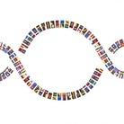 La Bandiera del Mondo 1+1=3. Unità nella diversità
