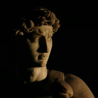 Il David di Michelangelo. Scena tratta dal film Michelangelo Infinito | Courtesy of Sky
