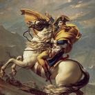 Napoleone che valica le Alpi, un ritratto icona di Jacques-Louis David