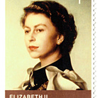 The Stamps of the Queen. Homage to Elizabeth II