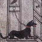 Mosaico romano con cane da guardia, Proveniente dalla Casa di Paquius Proculus, Pompei | Foto: WolfgangRieger via Wikimedia Creative Commons