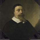 Aelbert Cuyp, Ritratto di Cornelis van Someren, 1649, Olio su auercia, 68.9 x 60.2 cm | © The National Gallery, London |È ormai consolidata l'ipotesi che il protagonista di questo raro ritratto eseguito da Aelbert Cuyp, famoso per i suoi paesaggi, sia Cornelis van Someren (1593 - 1649), eminente medico di Dordrecht che nel 1649 che aveva 56 anni.