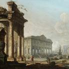Pietro Bellotti, Capriccio architettonico, cm 49 x 65,4. Londra, collezione privata