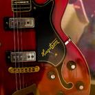 La Hagstrom rossa usata da Elvis nello show televisivo