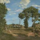 Frédéric Bazille (1841 - 1870), Paesaggio sul fiume Lez, 1870, Olio su tela, 137.1 x 200.6 cm, Minneapolis Institute of Art